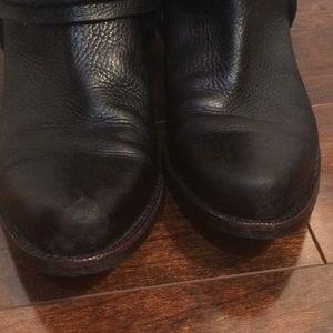 Franco Sarto Shoes - Franco Sarto black leather tall boots Sz 8.5